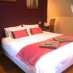 Hideaway upper bedroom