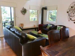 Berry Accommodation Villa lounge
