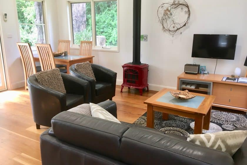 Berry NSW Accommodation Hideaway lounge