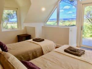Berry B&B Villa upper bedroom as 2 singles