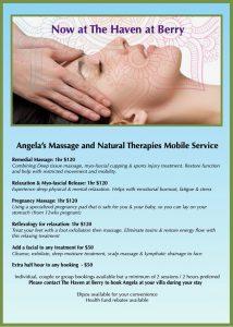 Angelas massage post